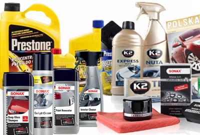 Kosmetyki i chemia samochodowa