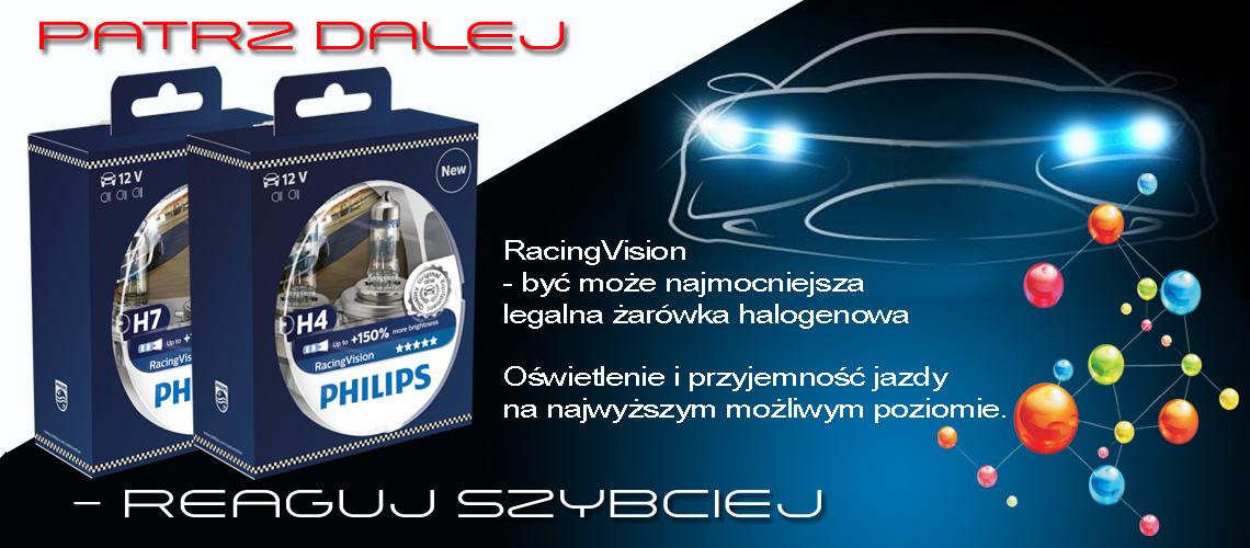 Philips Racing Vision – być może najmocniejsza legalna zarówka samochodowa